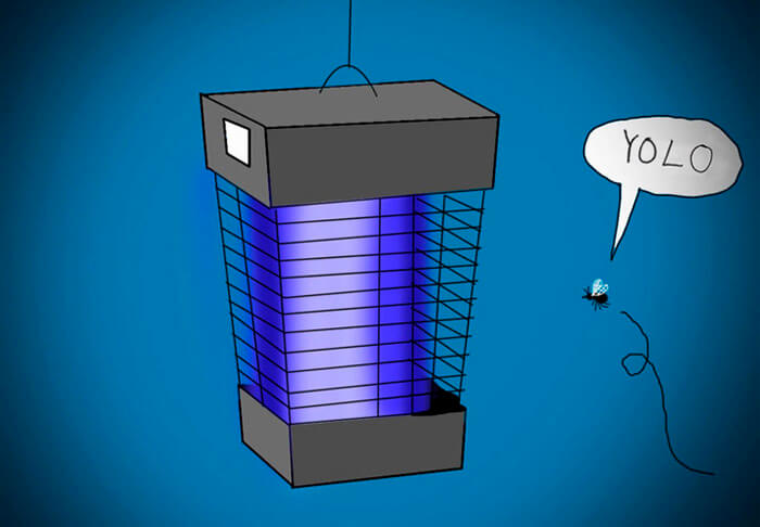 Bug Zapper Electronic Flying Insect Killer